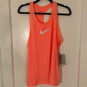 NWT Nike Dri-Fit Orange Tank